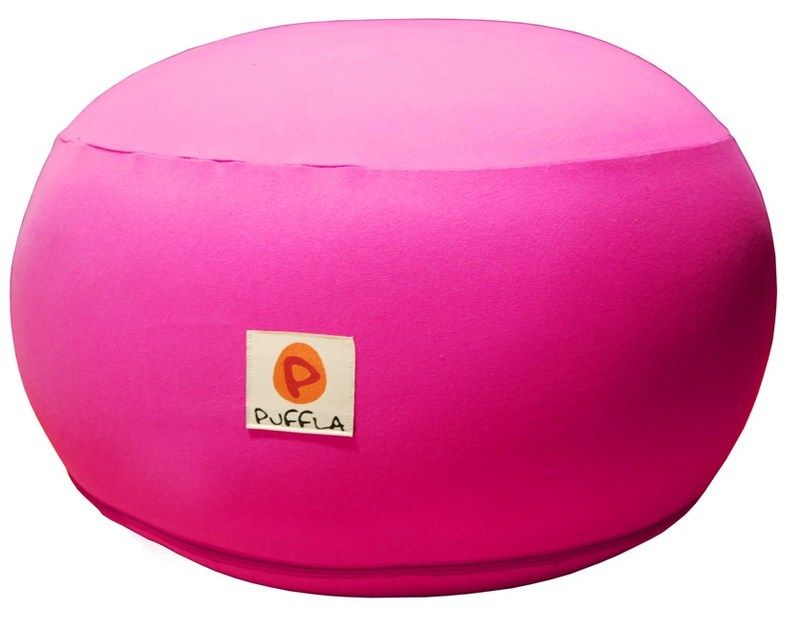 Upholstered kids pouf SMARTIE CHAIR by Puffla