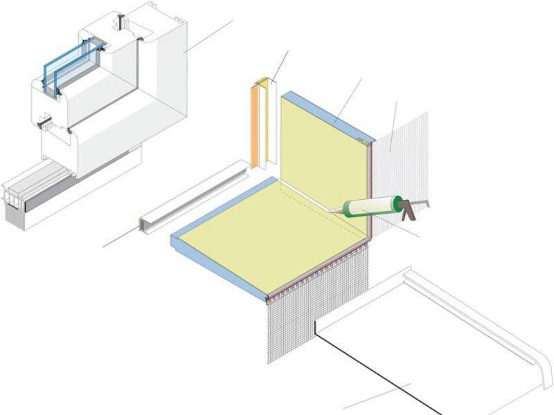 Aluminium windowsill EWS-SlidePro - EDINET