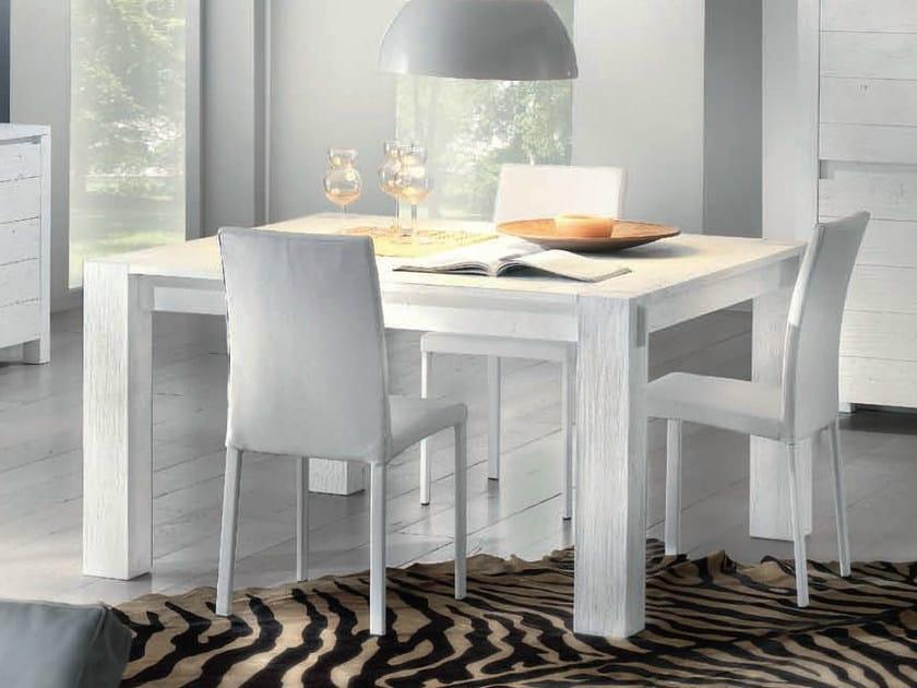 Tavolo quadrato in legno massello storia tavolo quadrato domus arte - Tavolo quadrato allungabile legno massello ...