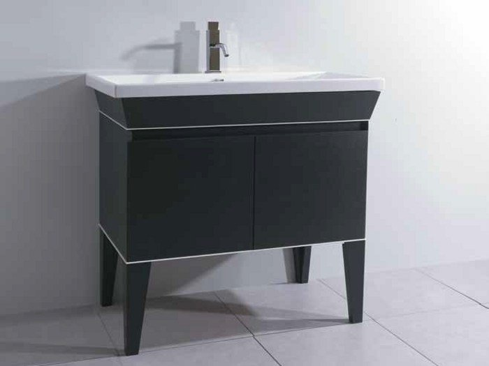 Vanity unit with doors MINIMAL DECO | Vanity unit - LA BOTTEGA DI MASTRO FIORE