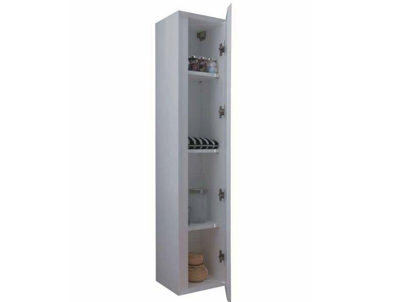 Tall wall cabinet MINIMAL | Wall cabinet - LA BOTTEGA DI MASTRO FIORE
