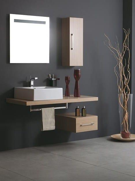 Piano lavabo in legno system piano lavabo in legno for Piani domestici eco compatibili