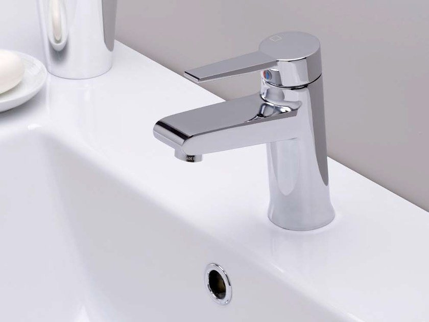 Countertop single handle 1 hole washbasin mixer EUROMADE® | Washbasin mixer - CRISTINA Rubinetterie