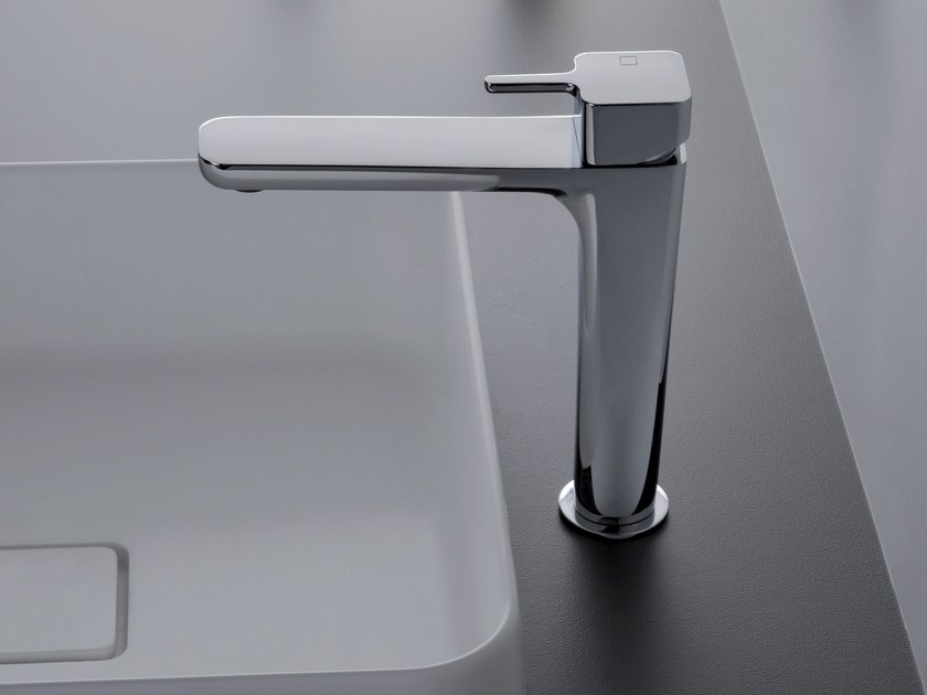 Countertop single handle 1 hole washbasin mixer KING | Washbasin mixer - CRISTINA Rubinetterie