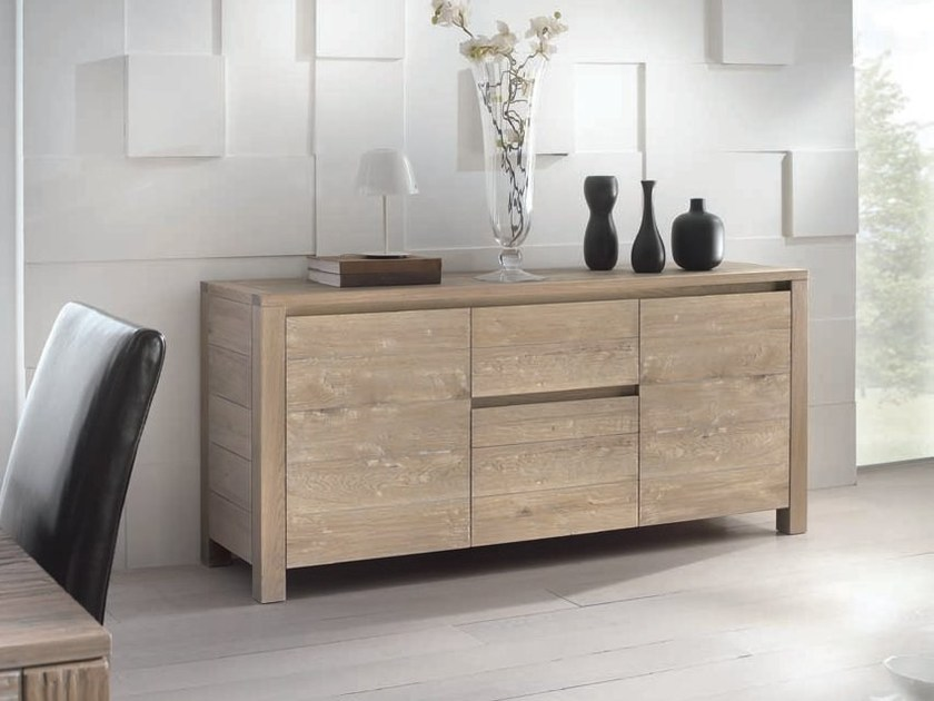 Solid wood sideboard ANGELA by Domus Arte