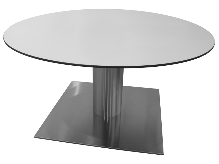 Stainless steel table SLIM-96-X - Vela Arredamenti
