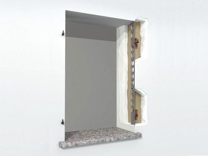 Anchorage system for shutters AMIKO® RISTRUTTURAZIONE by De Faveri