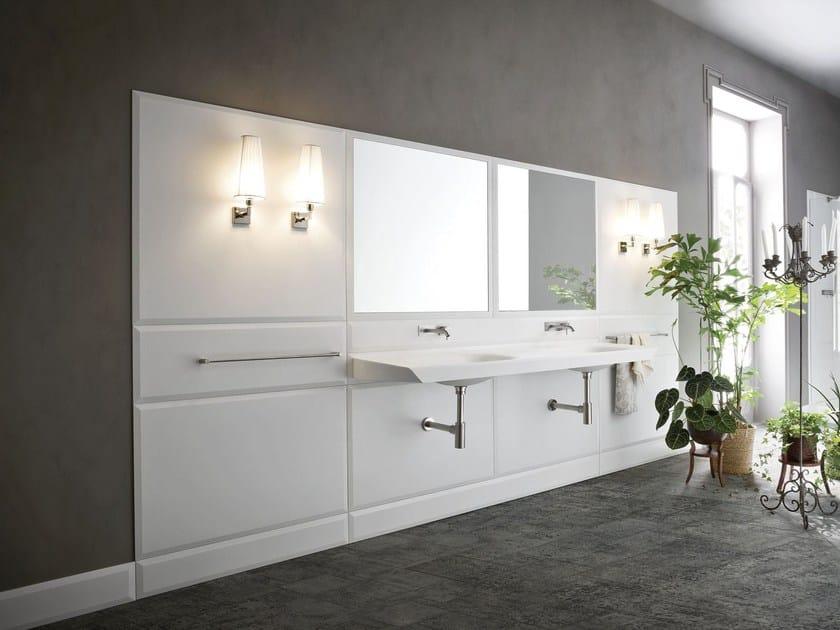 Corian® wall tiles WARP   Wall tiles - Rexa Design