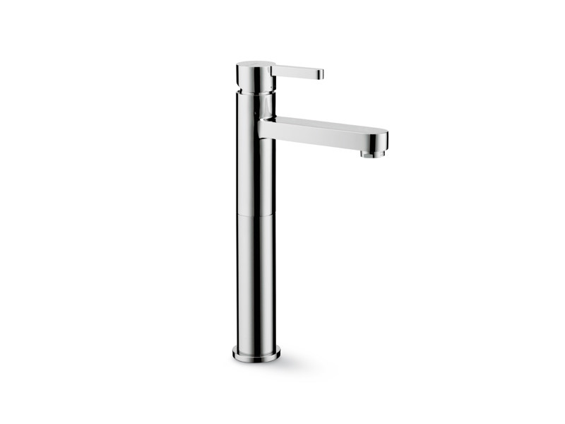 Countertop single handle washbasin mixer without waste ERGO | Countertop washbasin mixer - NEWFORM