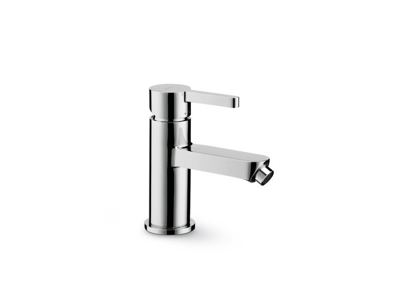 Countertop single handle bidet mixer without waste ERGO | Bidet mixer without waste - NEWFORM