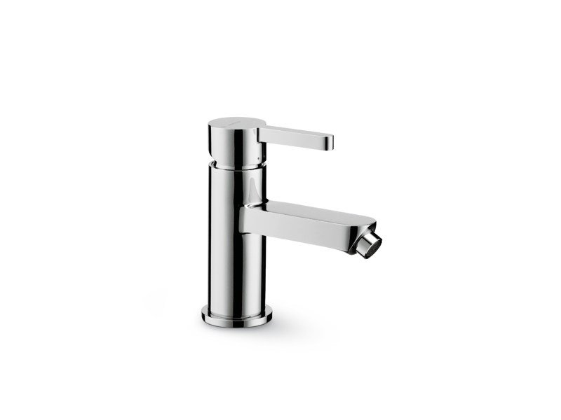 Countertop single handle bidet mixer without waste ERGO | Bidet mixer without waste by newform