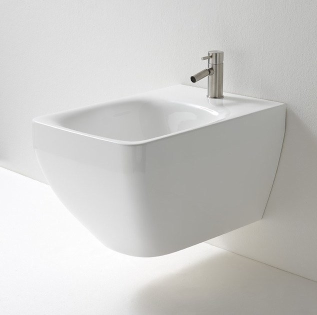 Wall-hung ceramic bidet MAYBE | Wall-hung bidet - Rexa Design