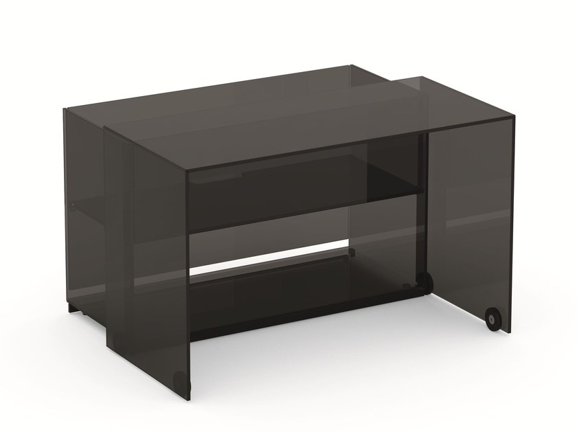 Crystal writing desk SERVER - T.D. Tonelli Design