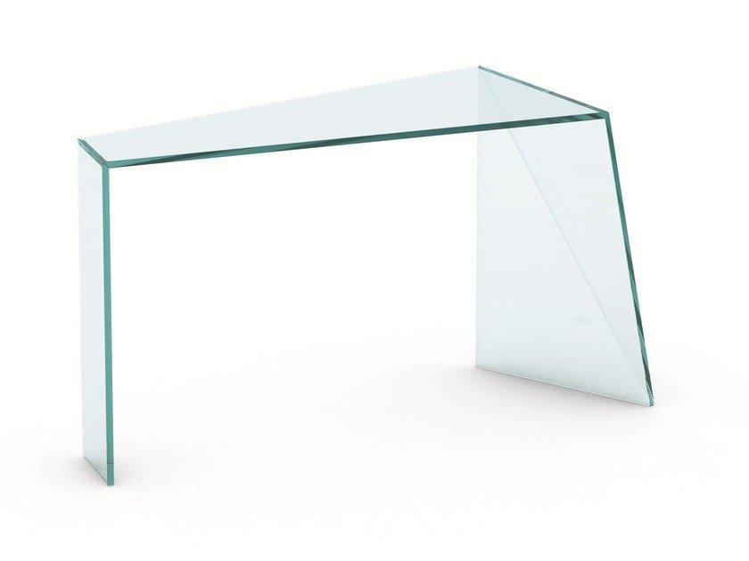 Glass console table PENROSE | Console table - T.D. Tonelli Design