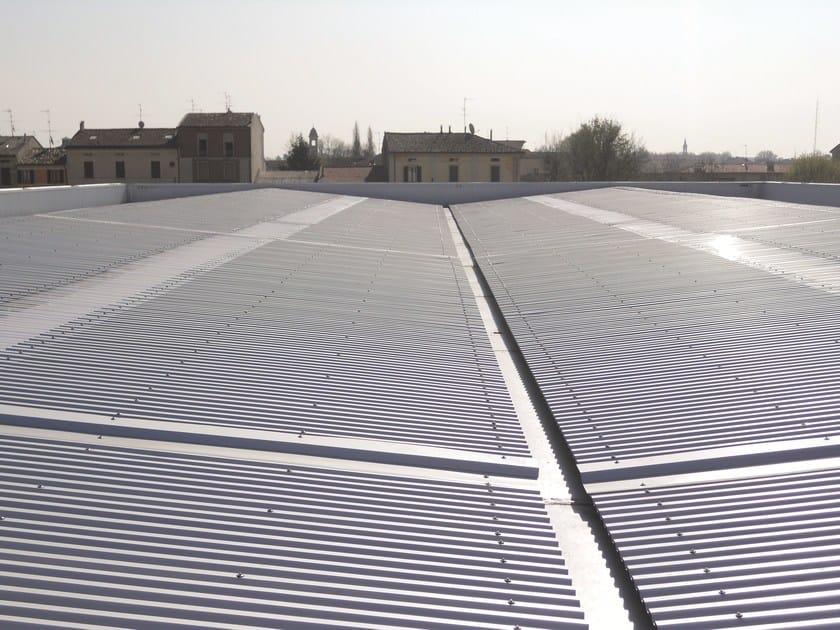 Polycarbonate transversal skylight