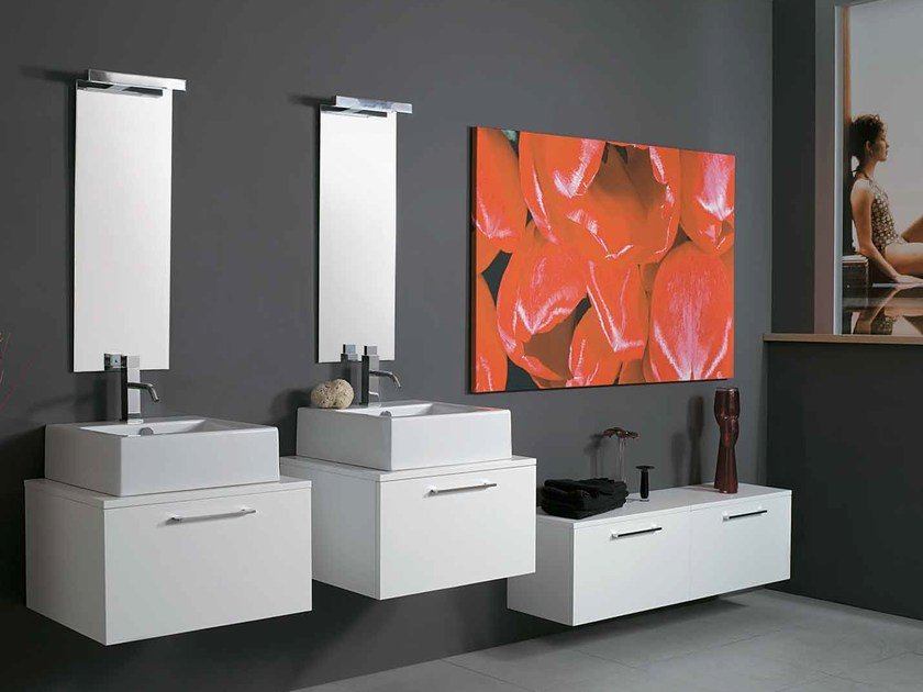 Bathroom furniture set 26 | Bathroom furniture set - LA BOTTEGA DI MASTRO FIORE