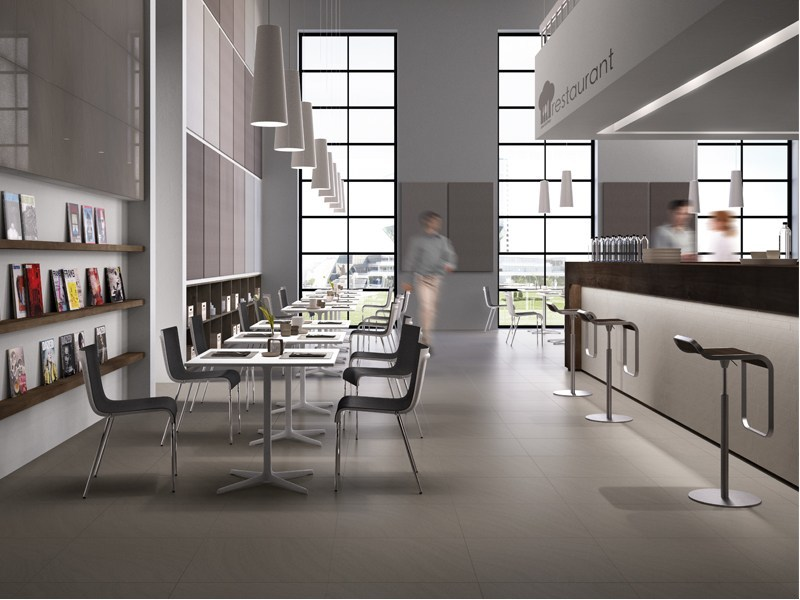 Indoor/outdoor porcelain stoneware flooring TECNOTILE by Ceramica d'Imola
