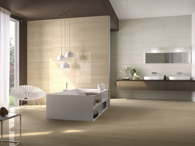 Porcelain stoneware wall/floor tiles with marble effect VEIN by Ceramica d'Imola
