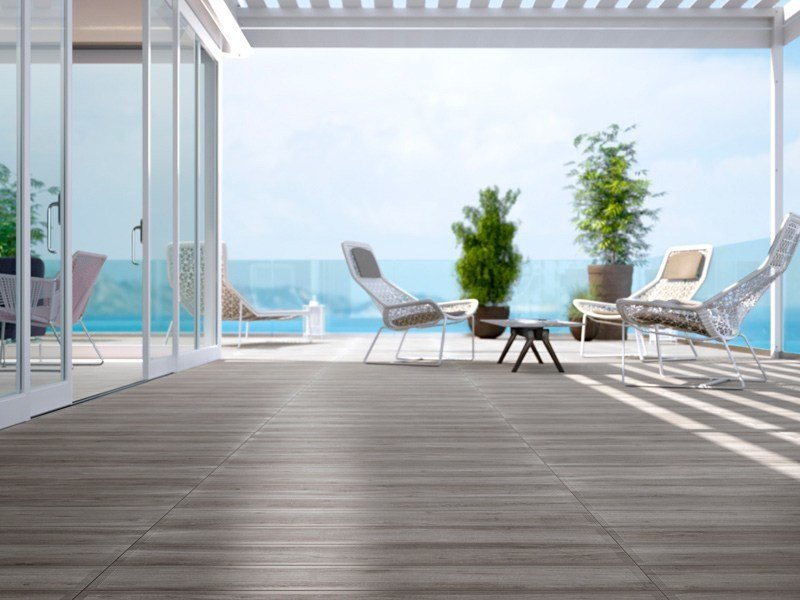 Indoor/outdoor glazed stoneware wall/floor tiles with wood effect WOOD - Cooperativa Ceramica d'Imola