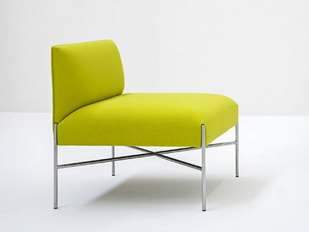Upholstered fabric armchair CHILL-OUT | Armchair - Tacchini Italia Forniture