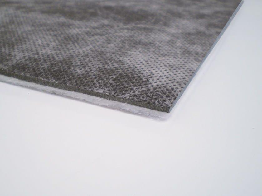 EPDM rubber sound insulation felt ISOLMANT TELOGOMMA FIBER - Isolmant - TECNASFALTI
