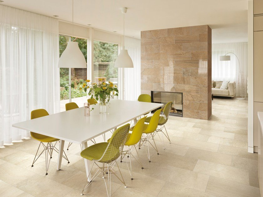 Porcelain stoneware wall/floor tiles with stone effect SELECTION - Ceramiche Refin