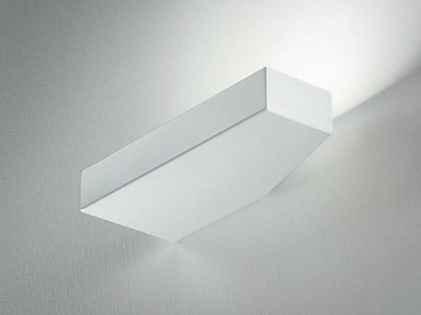 LED metal wall light TIP by PANZERI
