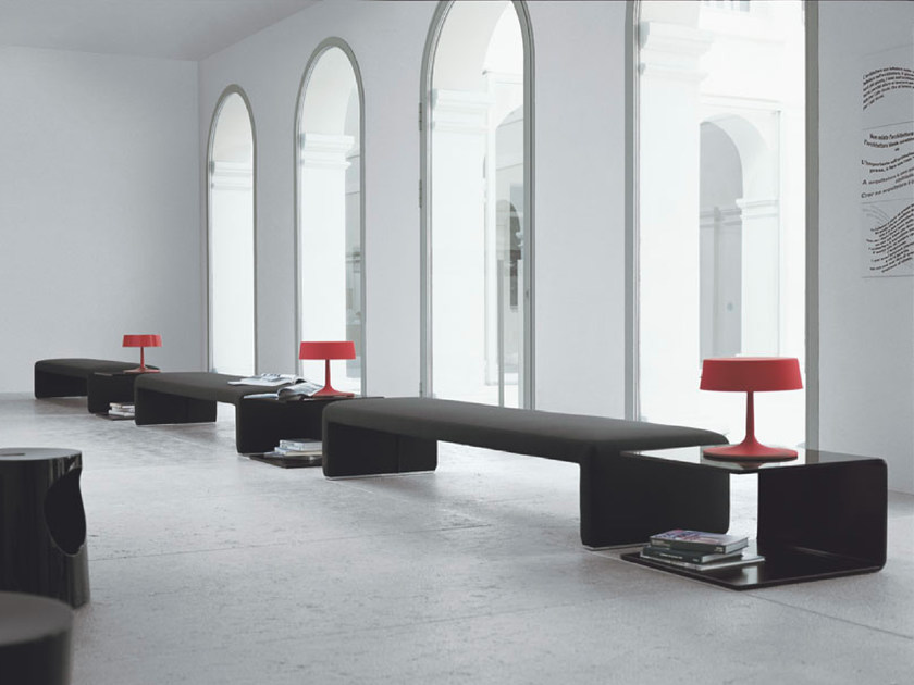 Upholstered bench LABANCA | Bench - Tacchini Italia Forniture