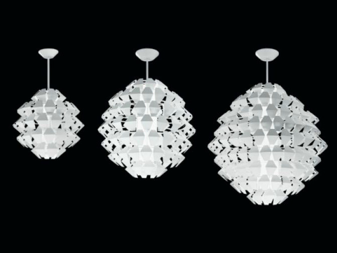 Metal pendant lamp AGAVE | Pendant lamp - PANZERI