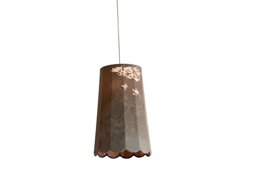 Denim fabric pendant lamp LIFE | Pendant lamp - Karman