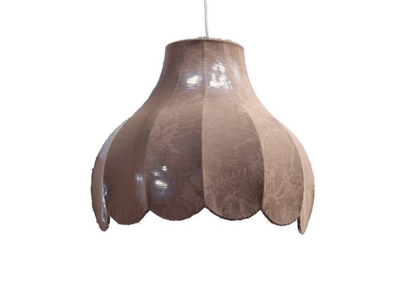 Denim fabric wall lamp LIFE   Wall lamp - Karman