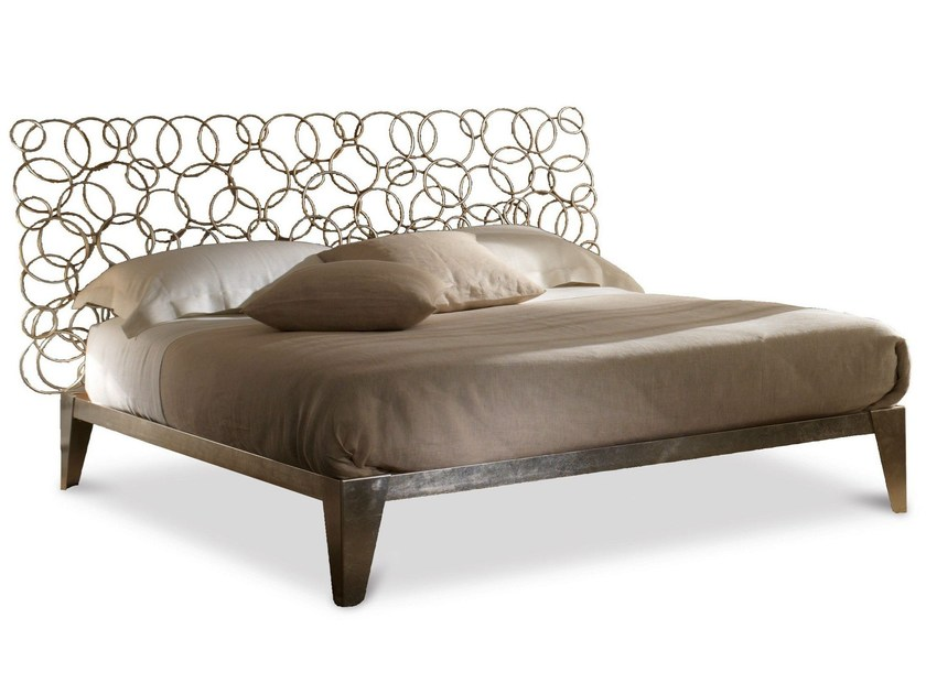 Iron double bed MONDRIAN | Double bed - Cantori