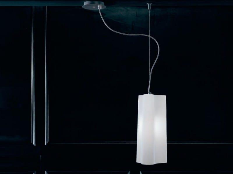 Blown glass pendant lamp ALVI | Pendant lamp - PANZERI