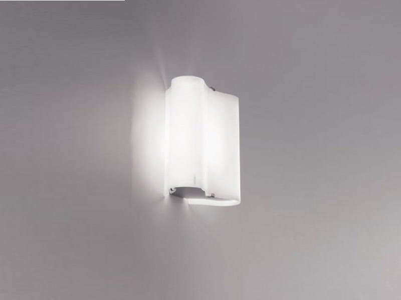 Blown glass wall light ALVI | Wall light - PANZERI