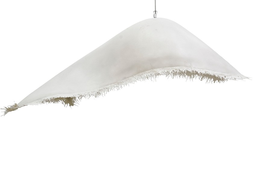 Fiberglass pendant lamp MOBY DICK | Pendant lamp - Karman