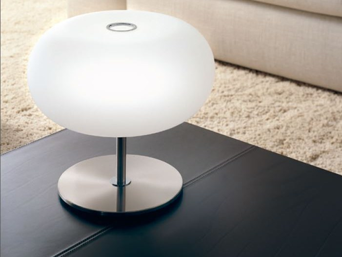 Blown glass table lamp BLOW   Table lamp by PANZERI