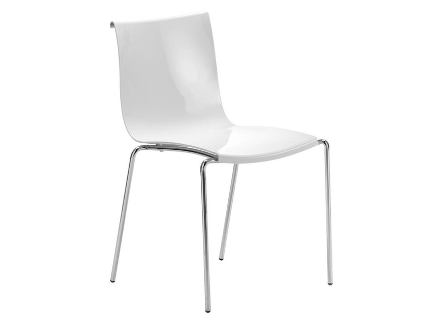 Polycarbonate chair ZELIG | Polycarbonate chair - Midj