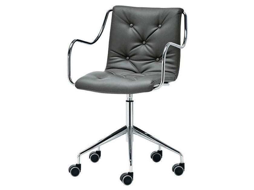 Task chair with 5-Spoke base ZELIG | Task chair - Midj