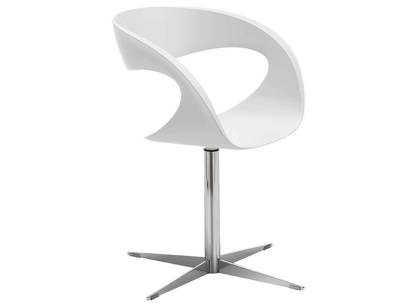 Baydur® chair with 4-spoke base RAFF F | Chair - Midj