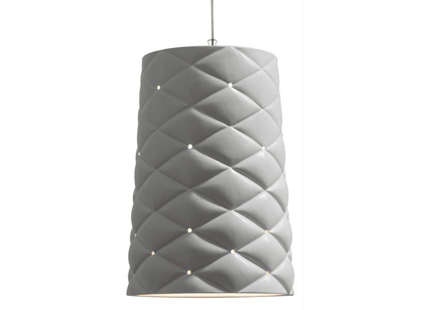 Ceramic pendant lamp MEMORY   Pendant lamp - Karman