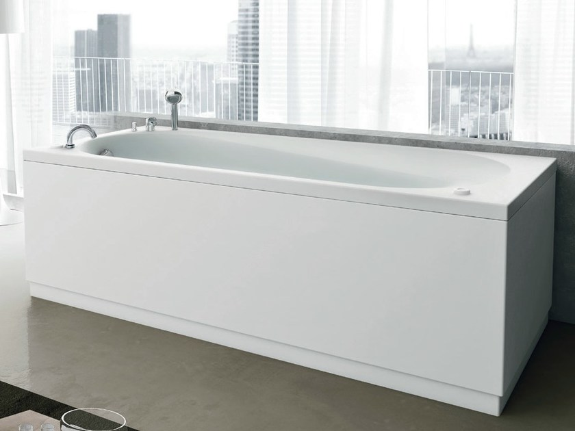 Whirlpool rectangular bathtub NOVA | Whirlpool bathtub - GRUPPO GEROMIN