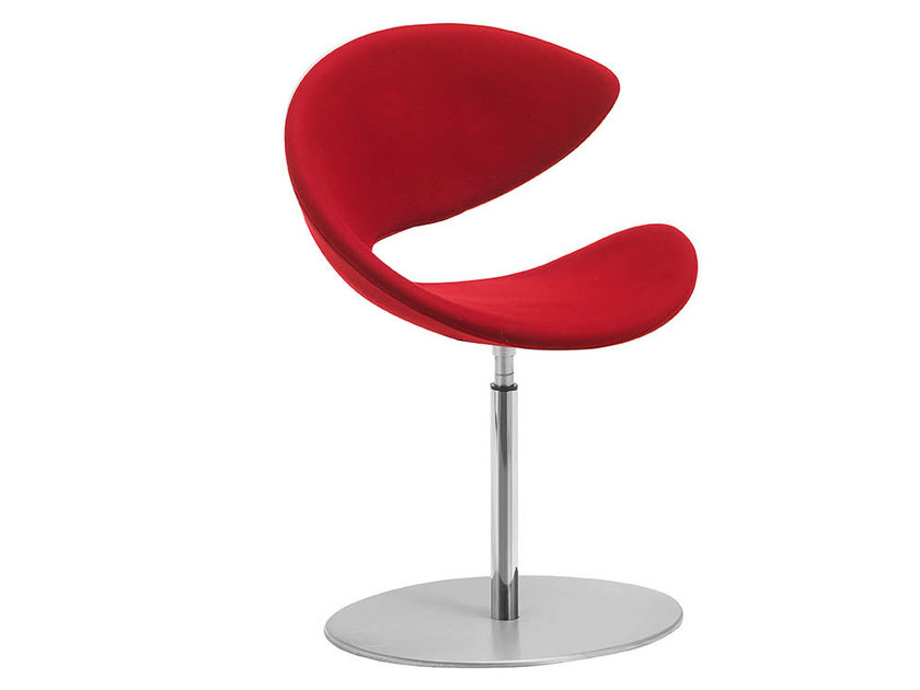 Swivel upholstered chair TWIST | Upholstered chair - Midj