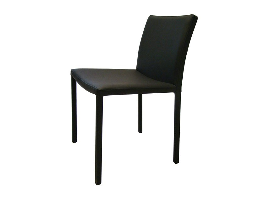 Contemporary style upholstered leather chair FUSIONTABLES | Chair - Fusiontables Saluc
