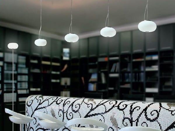 Blown glass pendant lamp BLOW MINI | Pendant lamp - PANZERI