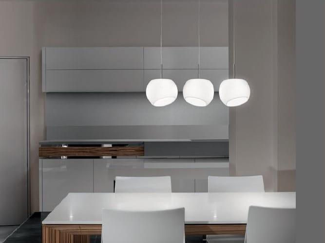 Blown glass pendant lamp BONBON | Pendant lamp - PANZERI