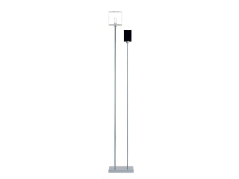 Blown glass floor lamp DOMINO | Floor lamp - PANZERI