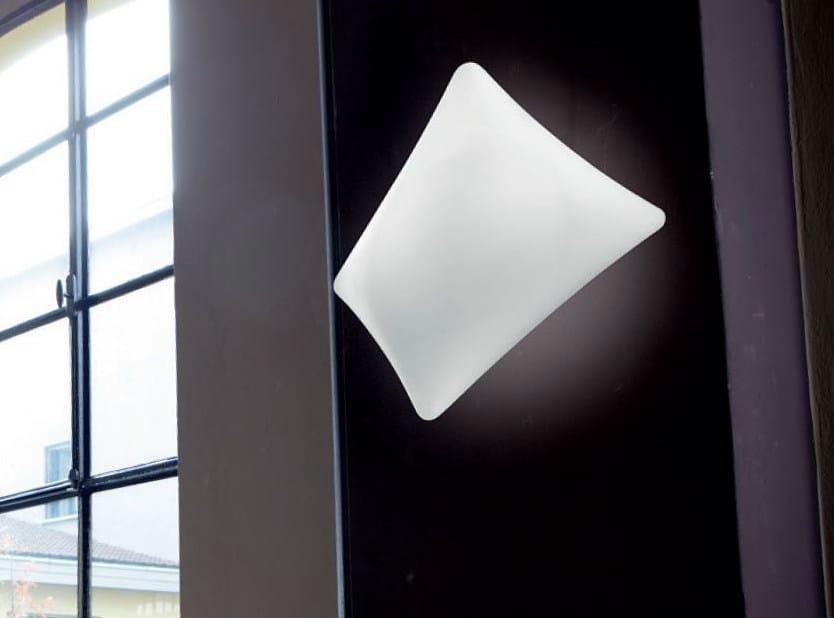 Blown glass wall light DREAMY | Wall light - PANZERI