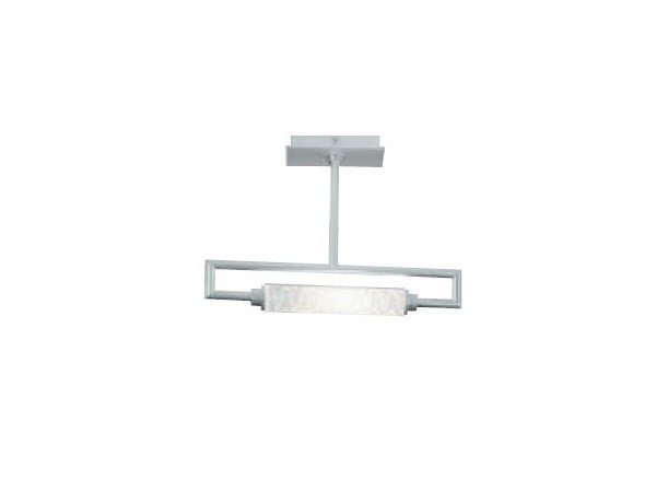 Satin glass ceiling lamp GLIM | Ceiling lamp by PANZERI