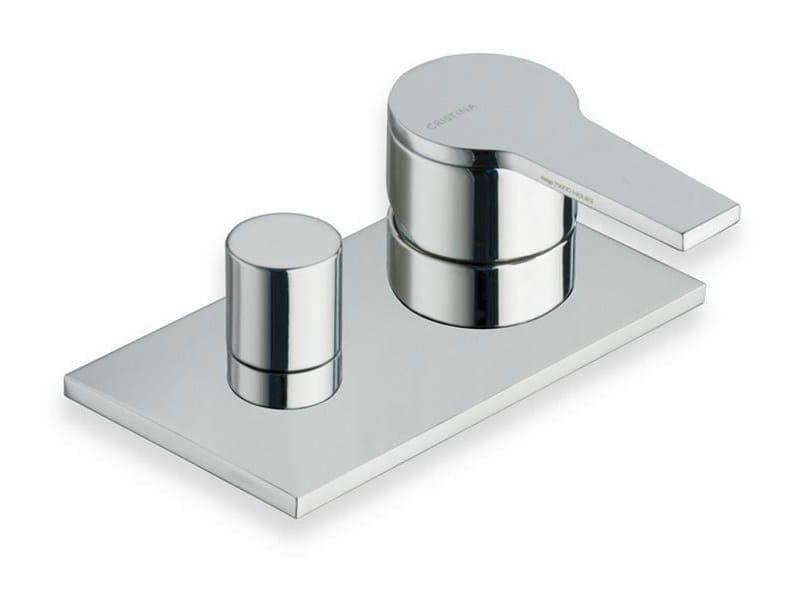 Chrome-plated bathtub mixer DIARIO | Bathtub mixer - CRISTINA Rubinetterie
