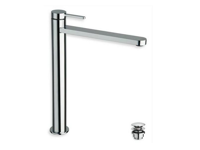 Chrome-plated countertop washbasin mixer UNI/C | 1 hole washbasin mixer - CRISTINA Rubinetterie